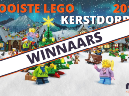 Winnaars Mooiste LEGO Kerstdorp 2018