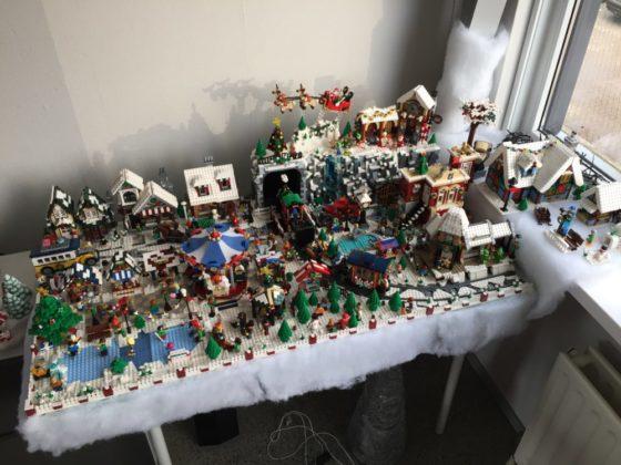 Yvonne van Hemert - kerstdorp