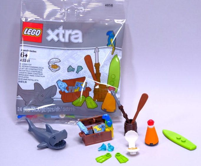 LEGO Xtra 40341 Sea Accessories