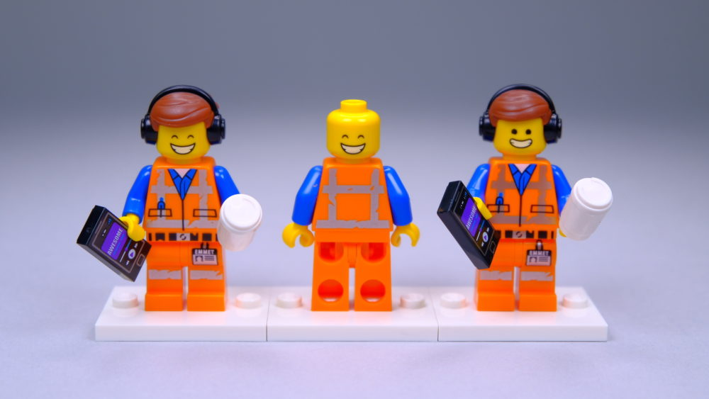 LEGO 71023 The LEGO Movie 2 CMF Awesome Remix Emmet