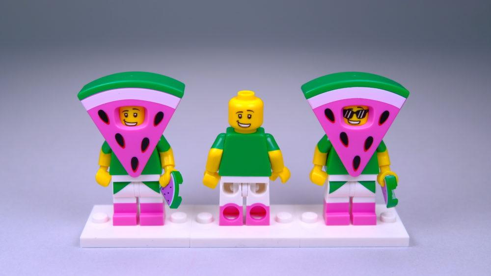 LEGO 71023 The LEGO Movie 2 CMF Watermelon Guy