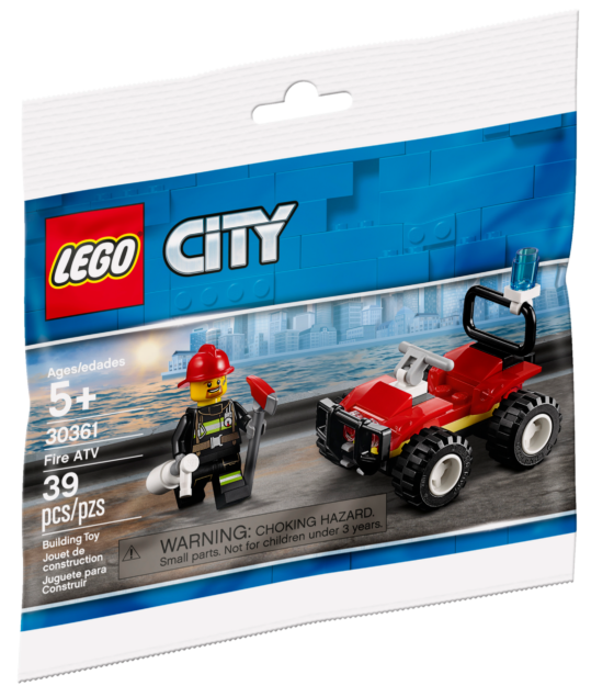 LEGO City 30361 Fire ATV