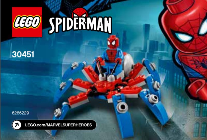LEGO Marvel 30451 Spider-Man's Mini Spider Crawler