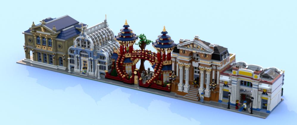 LEGO Ideas Chinese Garden
