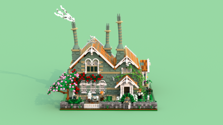 LEGO Ideas 1930's English Cottage