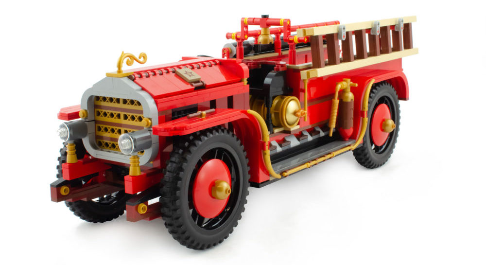 Finalisten AFOL Designer Program - Antique Fire Engine