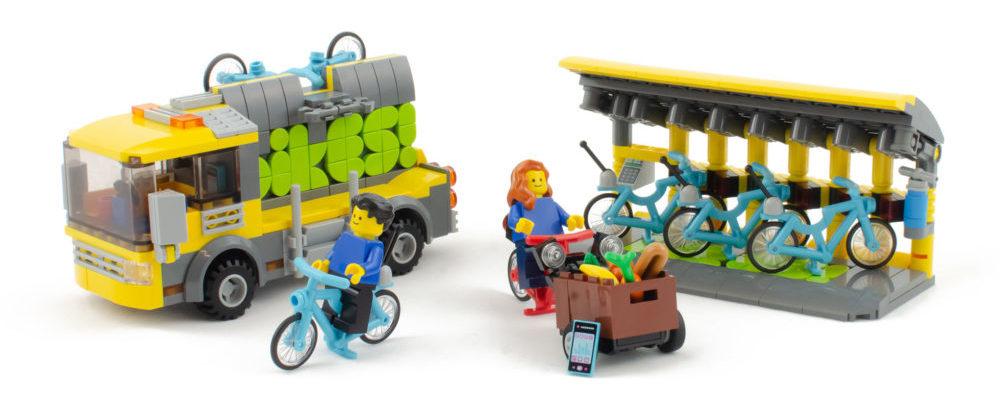Finalisten AFOL Designer Program - Bikes!
