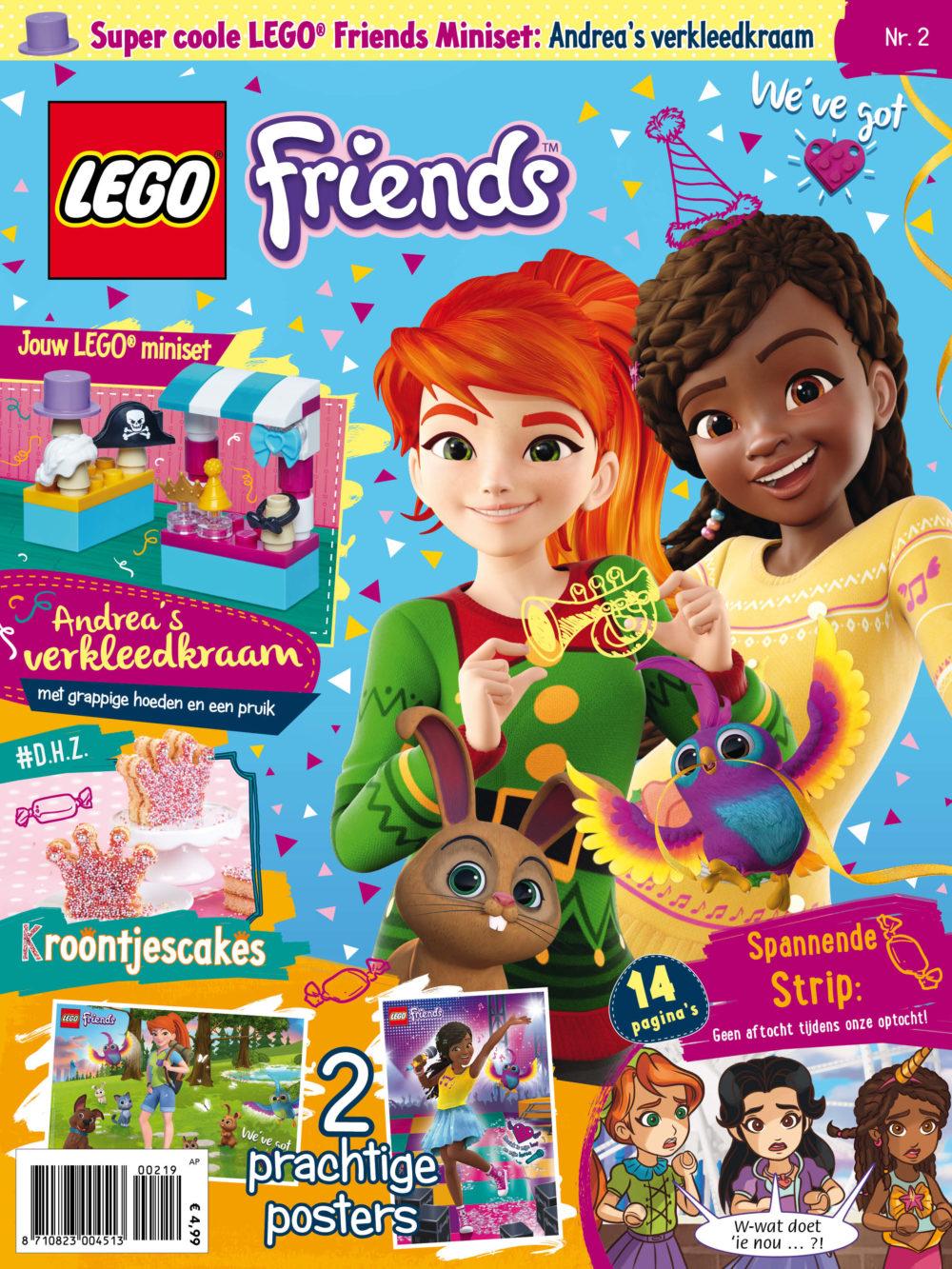 LEGO Friends Magazine 2 2019
