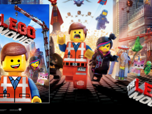 Gratis The LEGO Movie dvd