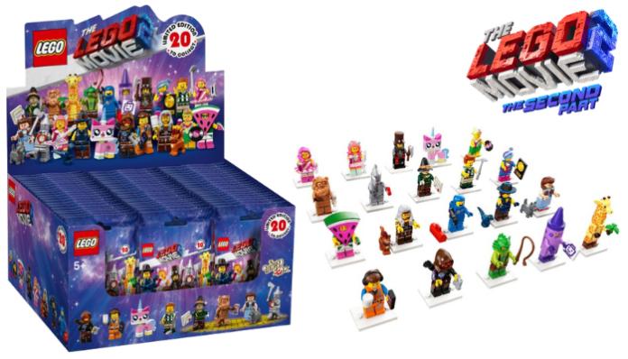 Inhoud doos The LEGO Movie 2 CMF