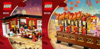 Instructies LEGO 80101 en LEGO 80102