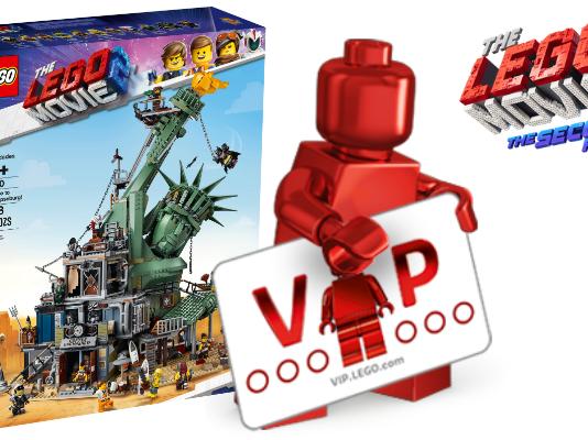 LEGO 70840 Welcome to Apocalypseburg! VIP Early Access