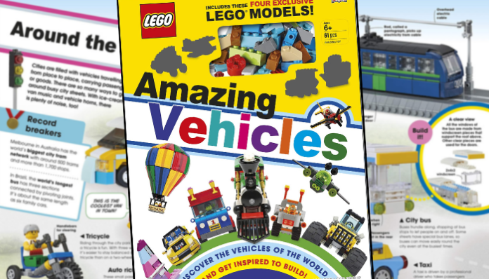 LEGO Amazing Vehicles Book