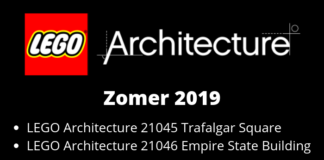 LEGO Architecture zomer 2019 sets bekend