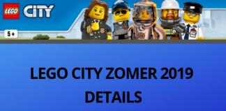 LEGO CITY ZOMER 2019 DETAILS