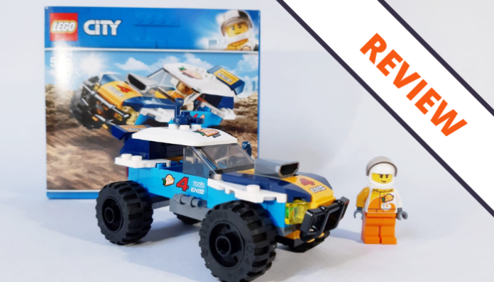LEGO City 60218 Desert Rally Car