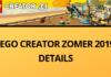 LEGO Creator ZOMER 2019 DETAILS