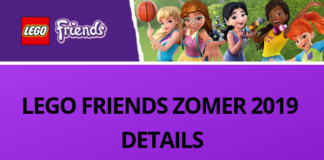 LEGO Friends ZOMER 2019 DETAILS