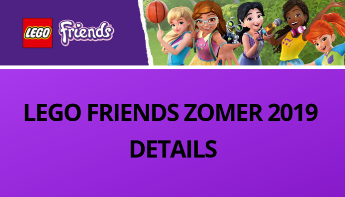 LEGO Friends ZOMER 2019 DETAILS