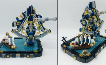 LEGO Ideas Navigational Sextant