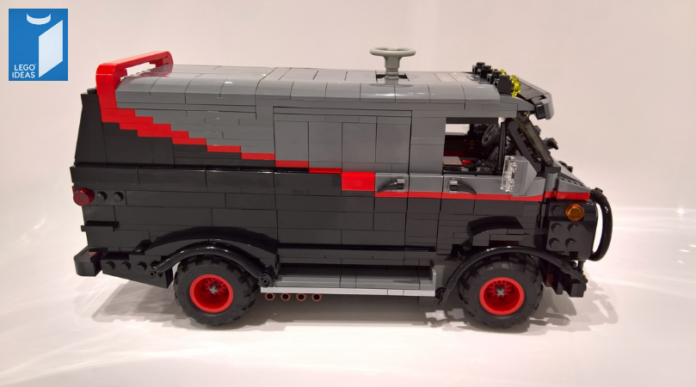LEGO Ideas The A-Team BA's van