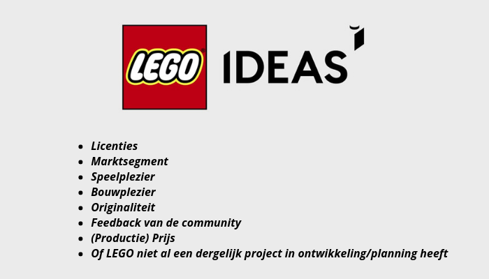 LEGO Ideas: Het review-board