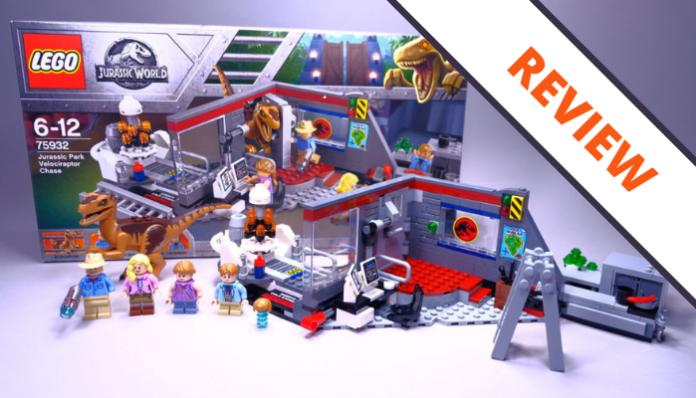 LEGO Jurassic Park 75932 Jurassic Park Velociraptor Chase