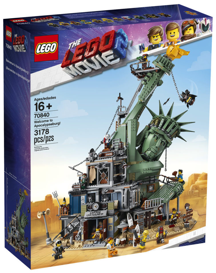 LEGO Movie 2 70840 Welcome to Apocalypseburg (1)