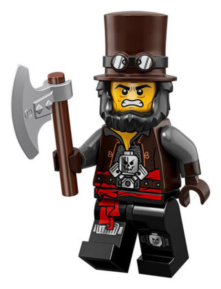 LEGO Movie 2 CMF Apocalypseburg Abe