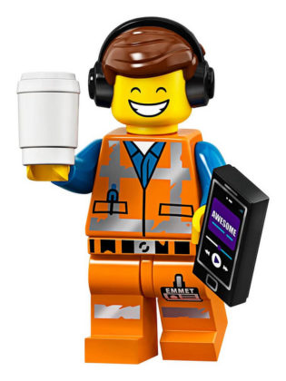 LEGO Movie 2 CMF Awesome Remix Emmet