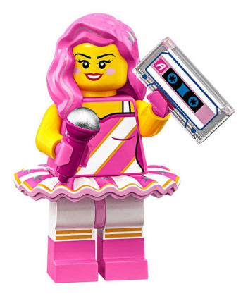 LEGO Movie 2 CMF Candy Rapper