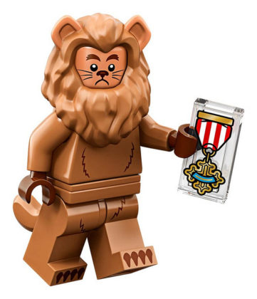 LEGO Movie 2 CMF Cowardly Lion