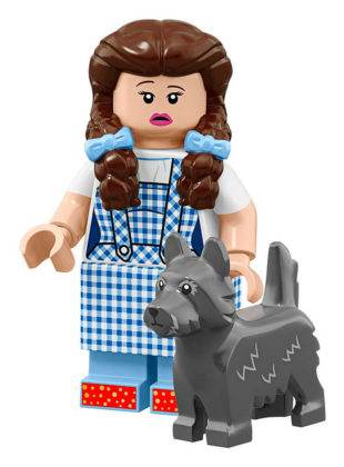 LEGO Movie 2 CMF Dorothy Gale & Toto