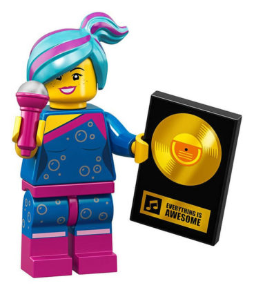 LEGO Movie 2 CMF Flashback Lucy