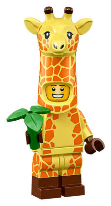 LEGO Movie 2 CMF Giraffe Guy