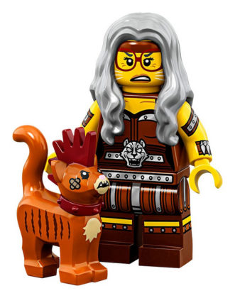 LEGO Movie 2 CMF Sherry Scratchen-Post & Scarfield