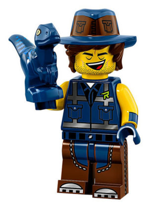LEGO Movie 2 CMF Vest Friend Rex