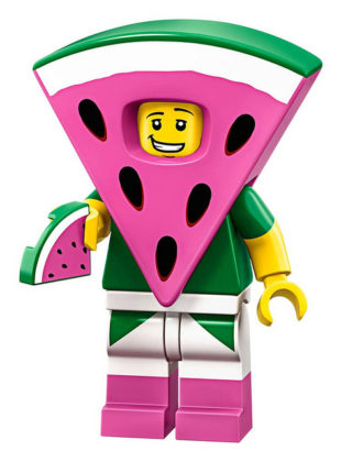 LEGO Movie 2 CMF Watermelon Dude