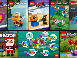 LEGO Polybags 2019