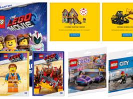 LEGO Promoties januari 2019