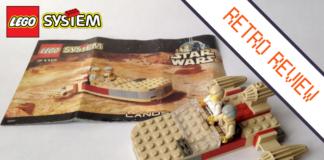 LEGO Star Wars 7110 Landspeeder