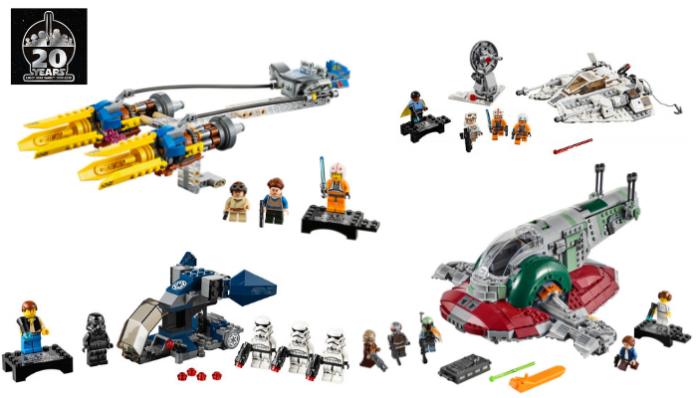 LEGO Star Wars 75243 Slave I 20th Anniversary