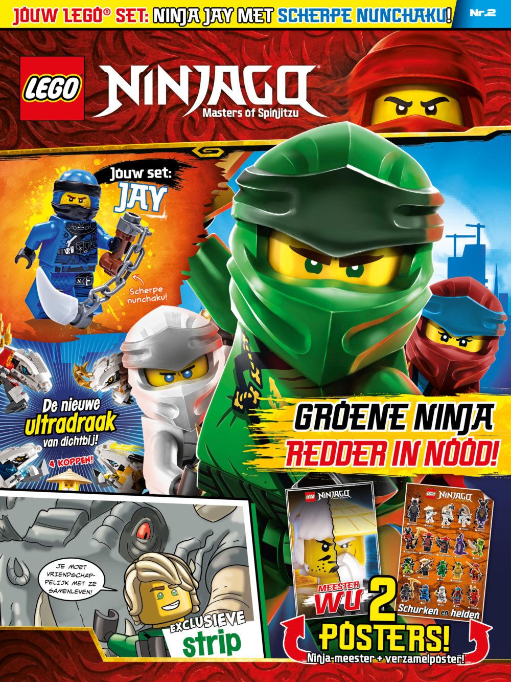 LEGO Ninjago Magazine 2 2019