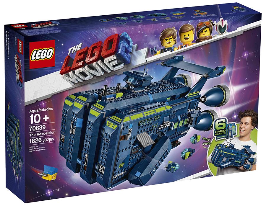 The LEGO Movie 2 70839 Rexcelsior! aangekondigd