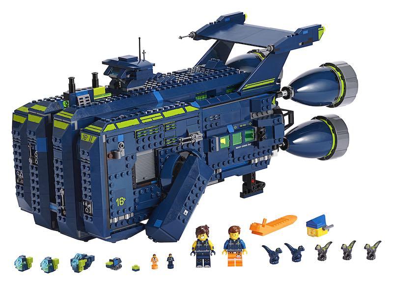 The LEGO Movie 270839 Rexcelsior! aangekondigd