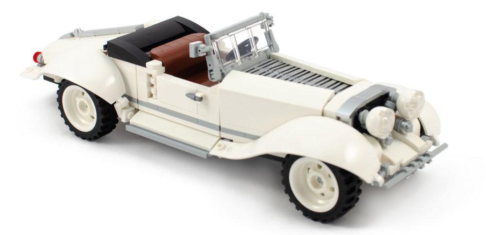 Finalisten AFOL Designer Program - Vintage Roadster