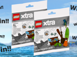 Win een LEGO 40341 Sea Accessories Polybag