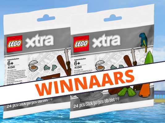 Winnaars LEGO 40341 Sea Accessories Polybag