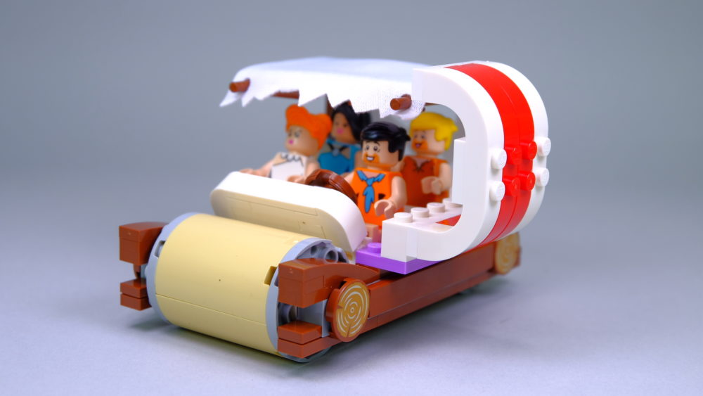 LEGO Ideas 21316 The Flintstones - car with ribs