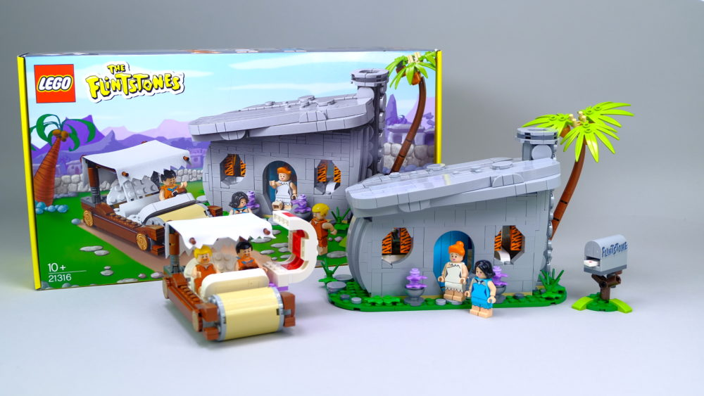LEGO Ideas 21316 The Flintstones - overview